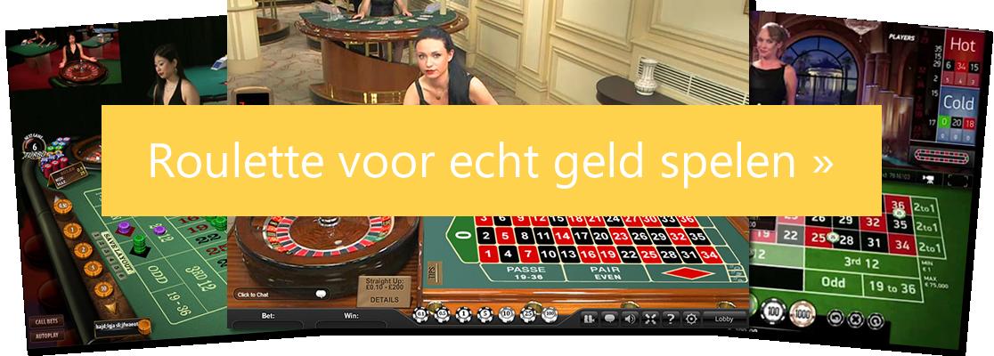 Roullete echt geld casino's
